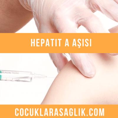 hepatit a aşısı ne zaman yapılmalıdır
