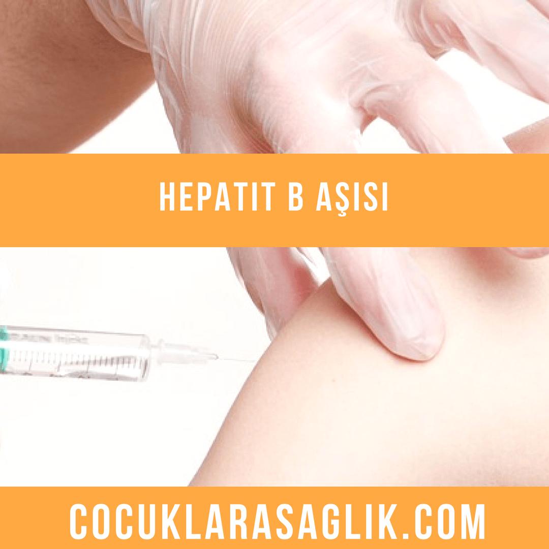 hepatit b aşısı