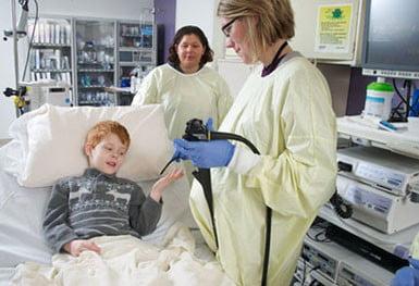 çocuklarda endoskopi nedir